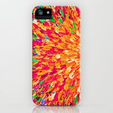NEON SPLASH - WOW Intense Dash of Cheerful Color, Bold Water Waves Nature Lovers Modern Abstract  Slim Case iPhone (5, 5s)