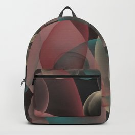 Imagination Unleashed abstract bubbles art Backpack