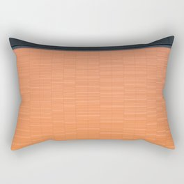 Abstract architectural architecture background Rectangular Pillow