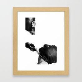 Posthuman fetish Framed Art Print