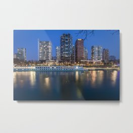 Rise of Glass Metal Print