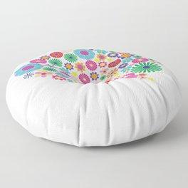 Flower brain Floor Pillow