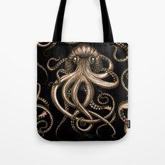 Bronze Kraken Tote Bag