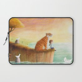 Pet Tiger by P.S. Brooks Laptop Sleeve
