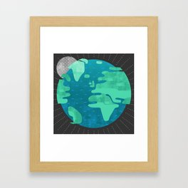 Earth Day Framed Art Print