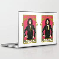 marc Laptop & iPad Skins featuring Marc Bolan by Saoirse Mc Dermott