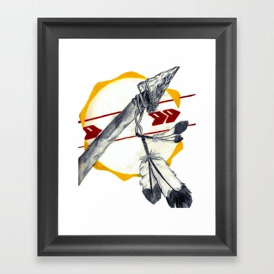 Spear 1 Framed Art Print