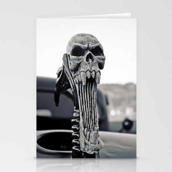 Skull ornament Stationery Cards