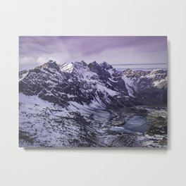 Mount Titlis, Swiss Alps Metal Print