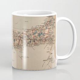 Vintage Map of Cape Cod MA (1905) Coffee Mug