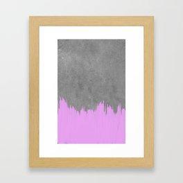 Slate + Paint Framed Art Print
