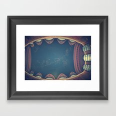 Into The Heavens  Framed Art Print