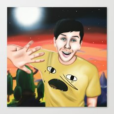Phil in Ooo Canvas Print