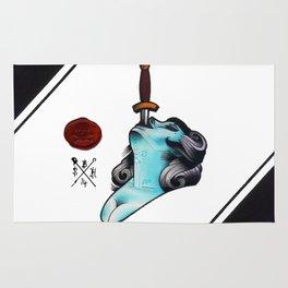 Sword Swallower Rug