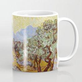 Vincent van Gogh - Olive Trees (1889) Coffee Mug