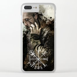 Trickster- Floki art Clear iPhone Case