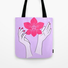 Holy orchid Tote Bag