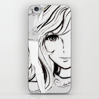 sketch iPhone & iPod Skins featuring SKETCH by Chandelina
