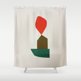 Cacho Shapes - Cutouts 2 Shower Curtain