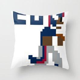 Saquon Barkley Tecmo Bowl Throw Pillow