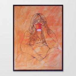 La Tasse Canvas Print