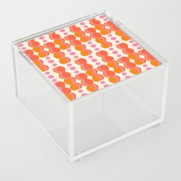 Uende Sixties - Geometric and bold retro shapes Acrylic Box
