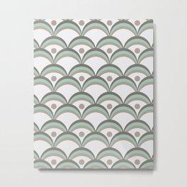 Scallops Metal Print