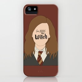 That Witch, Hermione iPhone Case