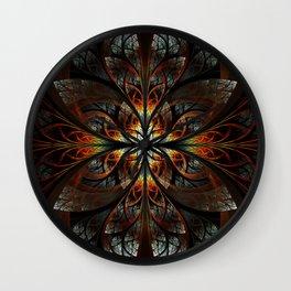 The Nexus - Black Wall Clock