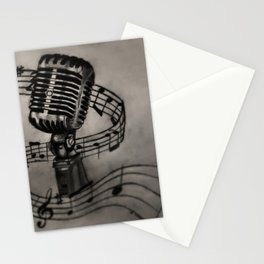 The power of song Stationery Cards