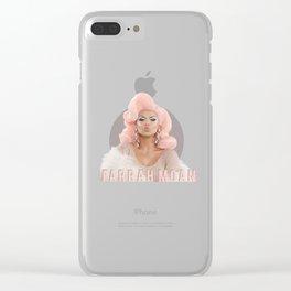 Farrah Moan - circle Clear iPhone Case