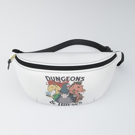 DUNGEONS AND HORSES RPG DESIGN Fanny Pack