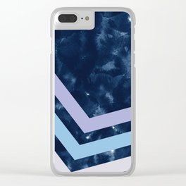Abstract XVIII Clear iPhone Case