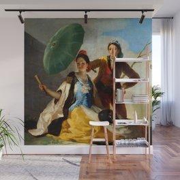 "Francisco Goya ""The Parasol (El quitasol) (The Sunshade)"" Wall Mural"