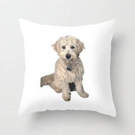 Power Posing Doodle Throw Pillow
