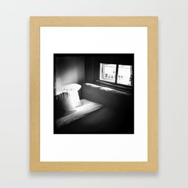 four days and three nights Framed Art Print