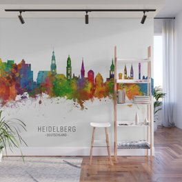 Heidelberg Germany Skyline Wall Mural