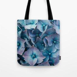Blue Summer Hydrangeas Tote Bag