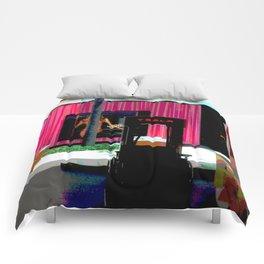 Interesting Juxtaposition Comforters