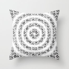 Cyclo Chainlinks in the mind Throw Pillow