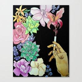 Toxic Paradox Canvas Print