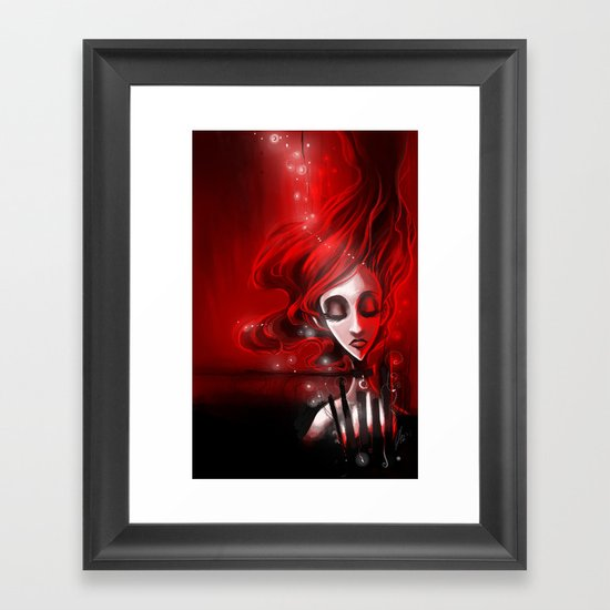 Soaked in Valentine [2013 edition] Framed Art Print