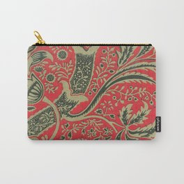 William Morris - Wallpaper Sample With Bamboo Pattern Carry-All Pouch