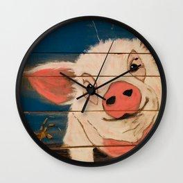 Oh, Wilbur! Wall Clock