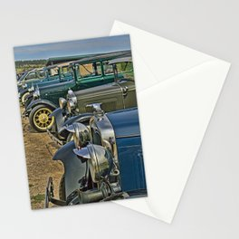 Headlights and Hood Ornaments Stationery Cards