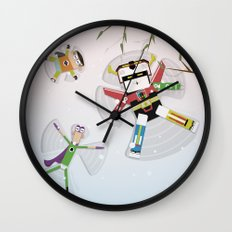 The Nick Yorkers in December Wall Clock