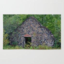 Delaware Michigan Mine Ruins Rug