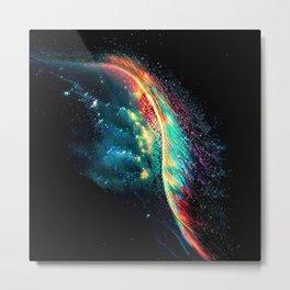 Into the Rainbow Vein Metal Print