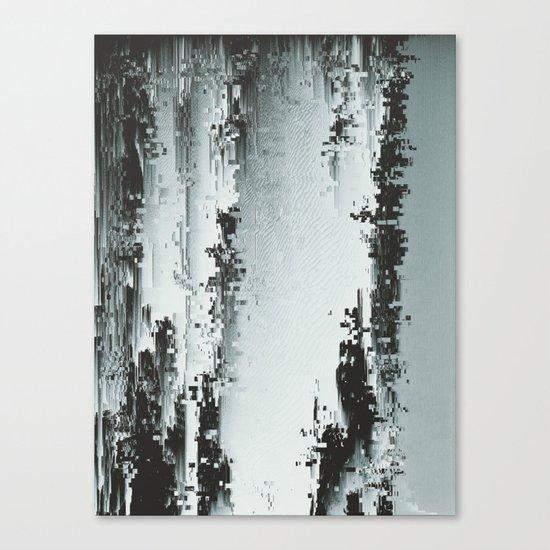 Silver Deposits Canvas Print