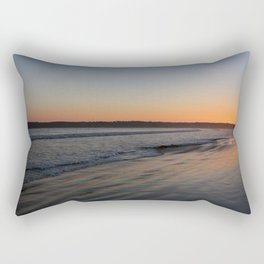 Coronado Island California Beach at dusk Rectangular Pillow